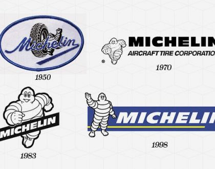 Meaningful logo design of michelin